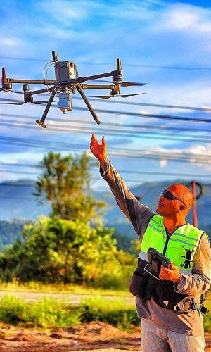 jasa survey drone lidar