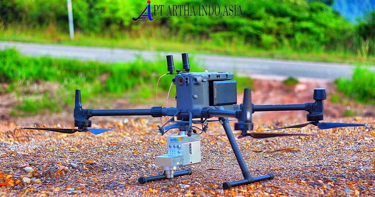 drone pemetaan lidar M300 jasa survey