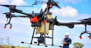 drone spray untuk jasa pemetaan perkebunan