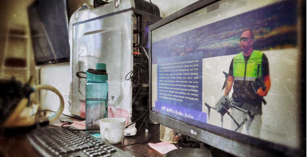 work station jasa survey pemetaan
