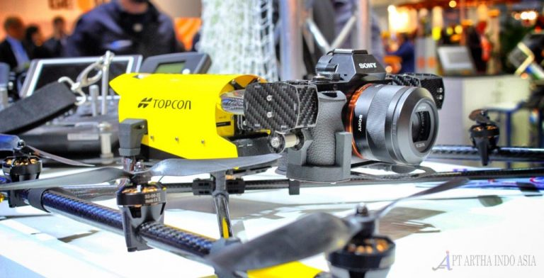 topcon drone untuk mapping foto udara